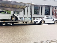 Porsche GT2 RS new prepaired for shipping